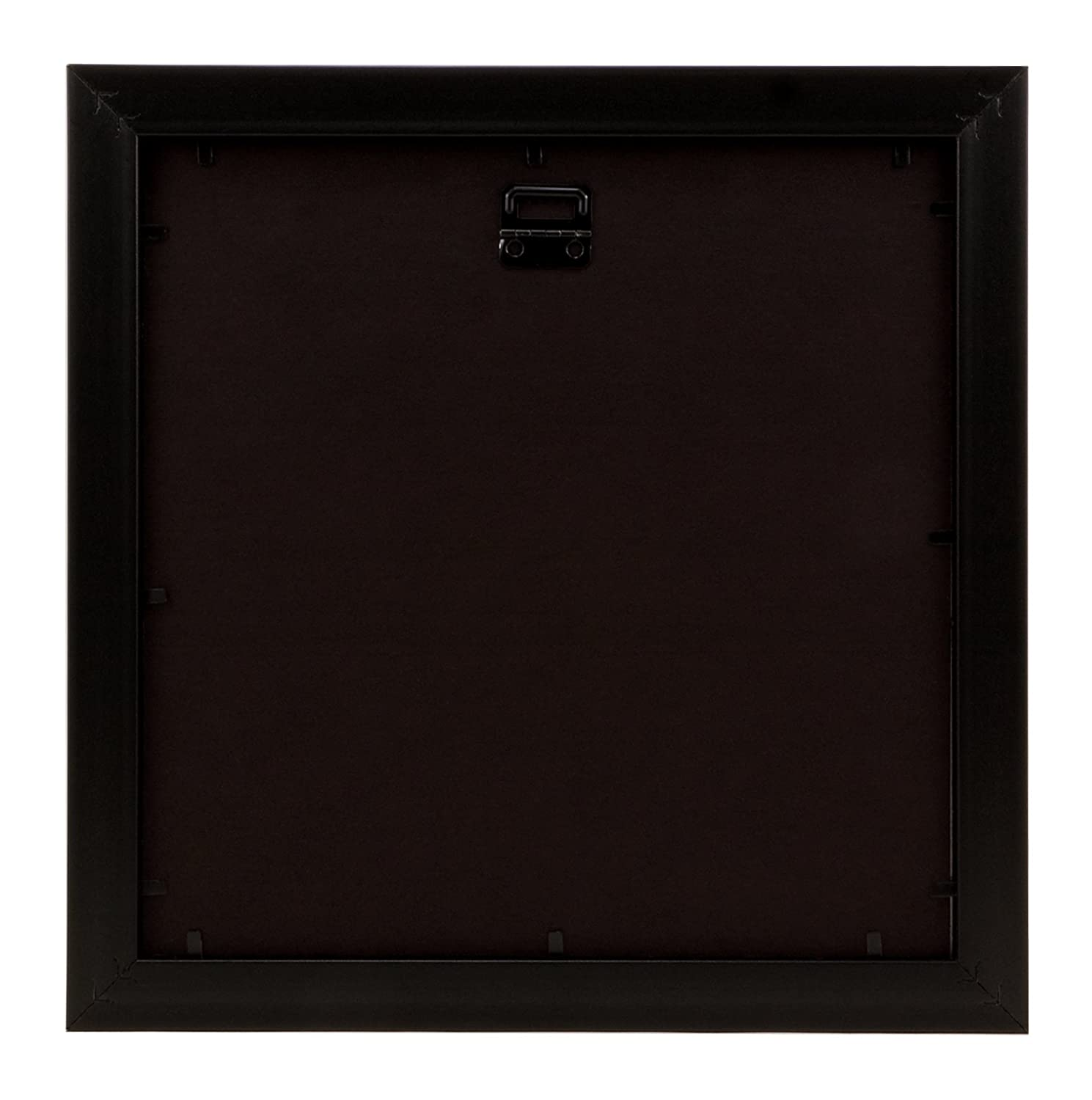 Bordertrends Nova 10x106x6 Inch Square Wall Frame Black With
