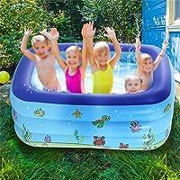 Inflatable Baby Bath Swim Tubs Newborn Thickening Children Portable Bathtub Bucket Safety Swimming Pool 130 * 90 * 48cm