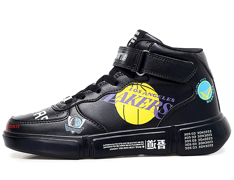 GNEDIAE Mixte Adulte Sneaker Basketball Femme Homme