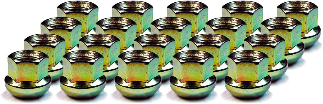 Set of 20 Wheel Lug Nut DPAccessories LOR2B8CZOGD05020 Open End Ball Seat Lug Nuts for 1980-1989 Porsche Factory OE Wheels