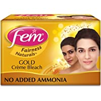 Fem Fairness Naturals Gold Skin Bleach, 64g