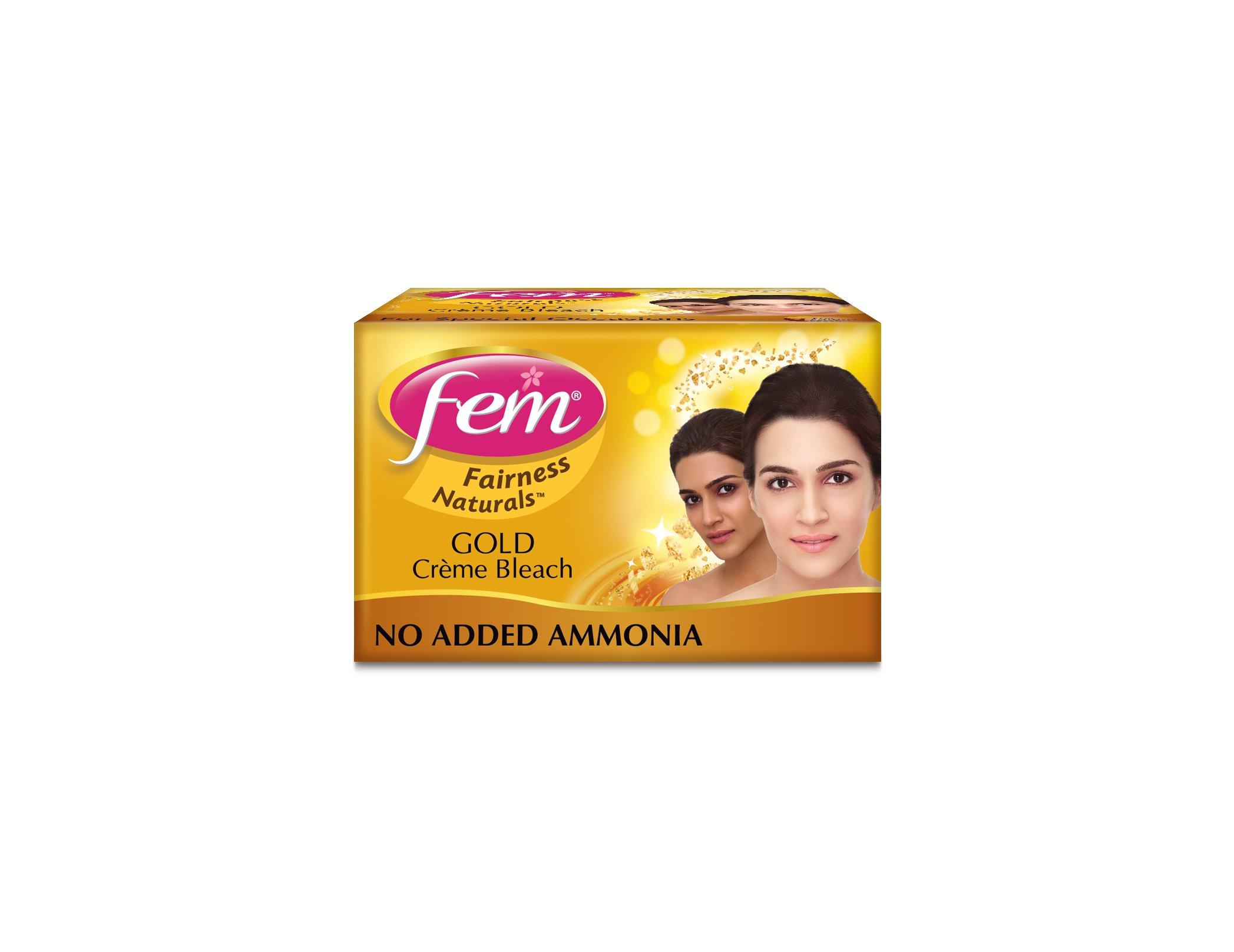 Fem Fairness Naturals Gold Skin Bleach, 314.4g product image