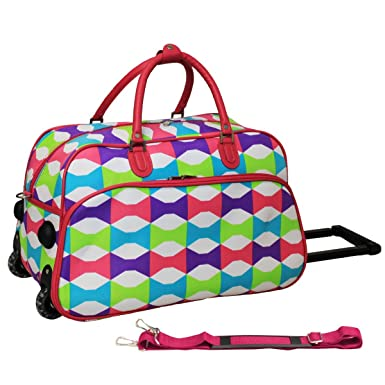 6b3738698c2c World Traveler Blissful 21-inch Carry-On Rolling Duffle Bag