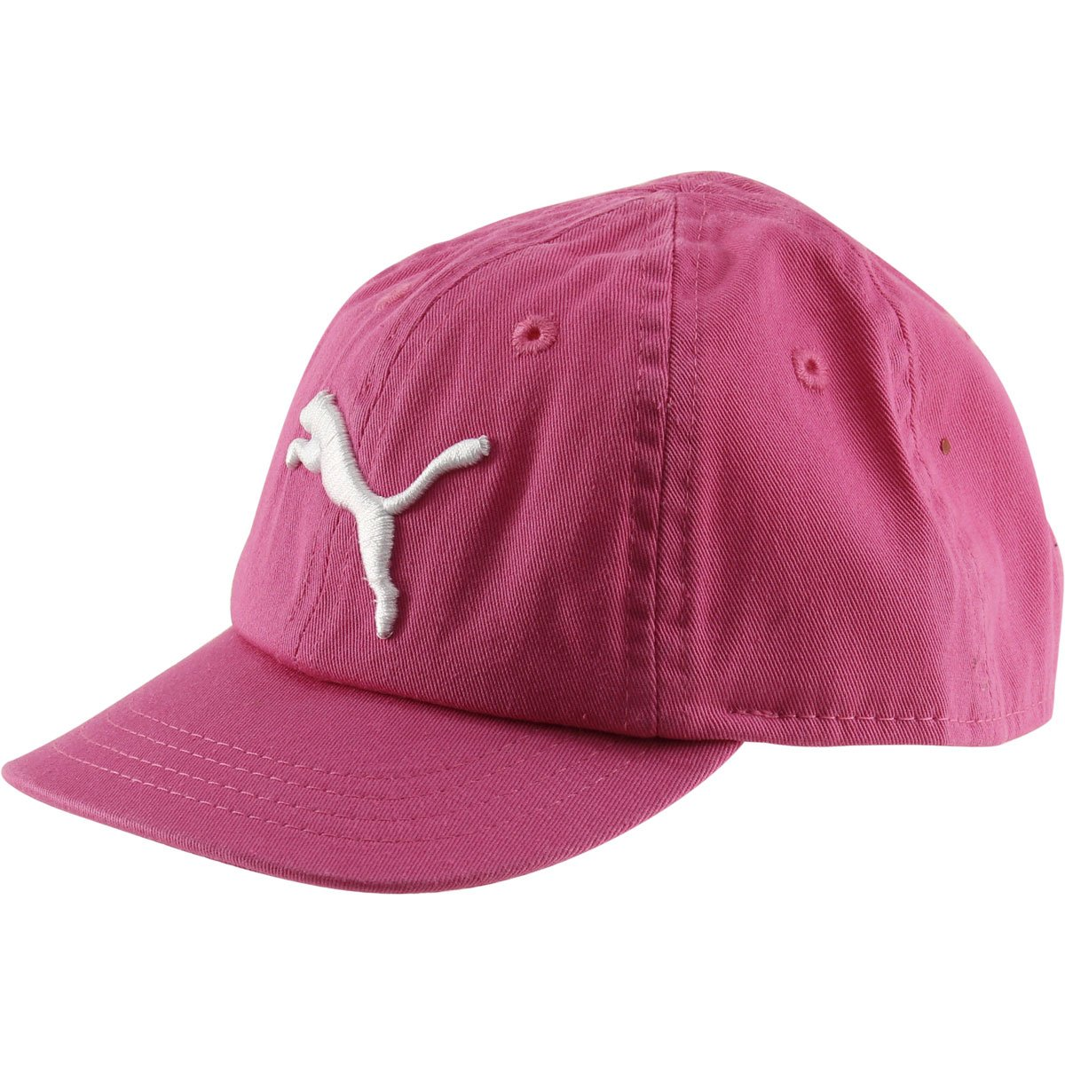 Puma Girls ''Evercat Podium'' Baseball Cap - pink/white, Adjustable (Infant)