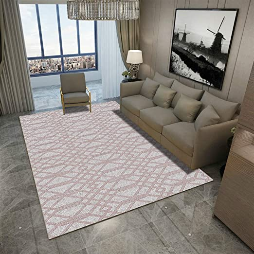 Insun Tapis de Salon Chambre Style Scandinave Moderne Design Tapis Déco  Rectangle Antidérapant Lavable Style 25 40x60cm