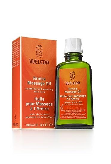 weleda arnica oil