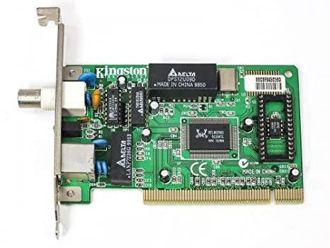 Kingston kne30bt 10Base Combo RJ45 BNC PCI Tarjeta de red ...