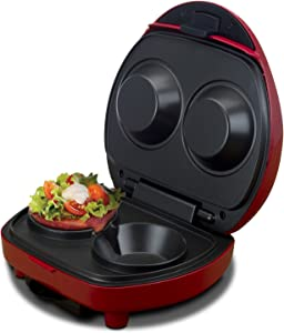 Smart Planet BNB 1BB Smart Planet Bacon Nation Bacon Bowl Maker, Red
