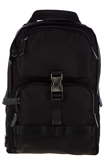 b4857f1e9b ... coupon code for prada mens nylon rucksack backpack travel montagn black  7a6c4 06059