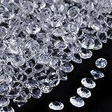 Faburo 5000Stück Deko Diamanten Hochzeit Streudeko 5mm Kristall Dekosteine Tischdeko
