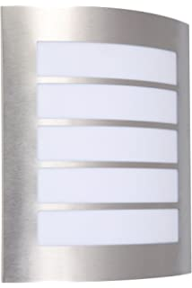 Eco Light Wandleuchte E27 Aluminium Anthrazit
