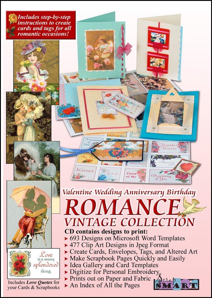 ScrapSMART - Romance: Valentine, Wedding, Anniversary, Birthday Vintage Collection Software - Jpeg & PDF Files for Mac [Download] by ScrapSMART