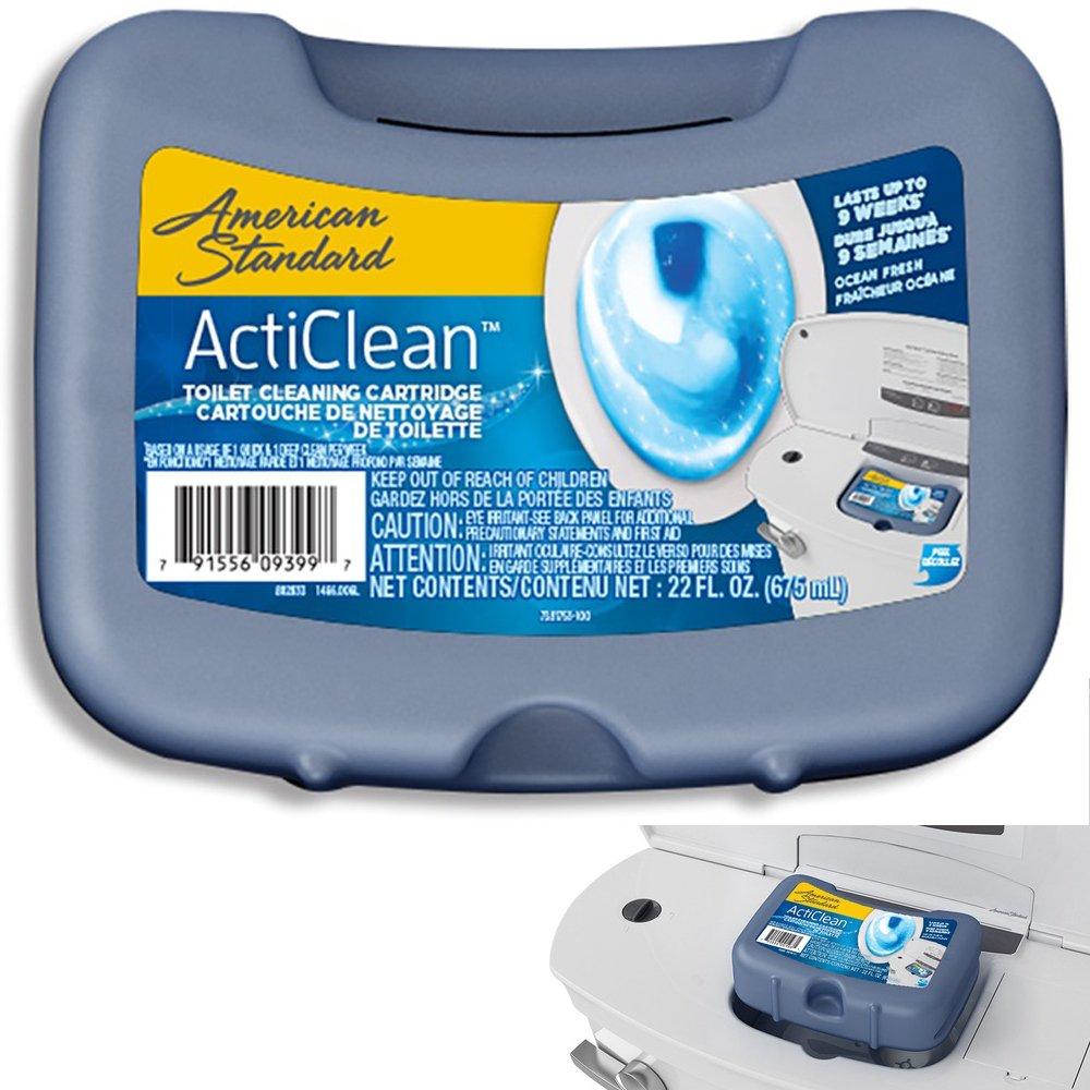 American Standard ActiClean 22-oz Ocean Fresh Toilet Bowl Cleaner ...