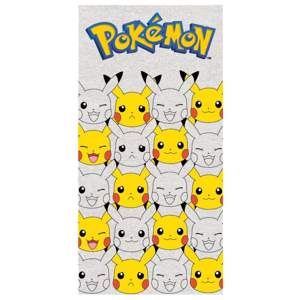 Pokemon Pikachu Kids 100% Cotton Beach Towel 27 X 55 Inch Kids Beach Towels Cotton Towels Beach Towel