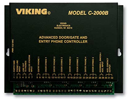 Amazon Viking C 2000b Door Entry Controller Safety And
