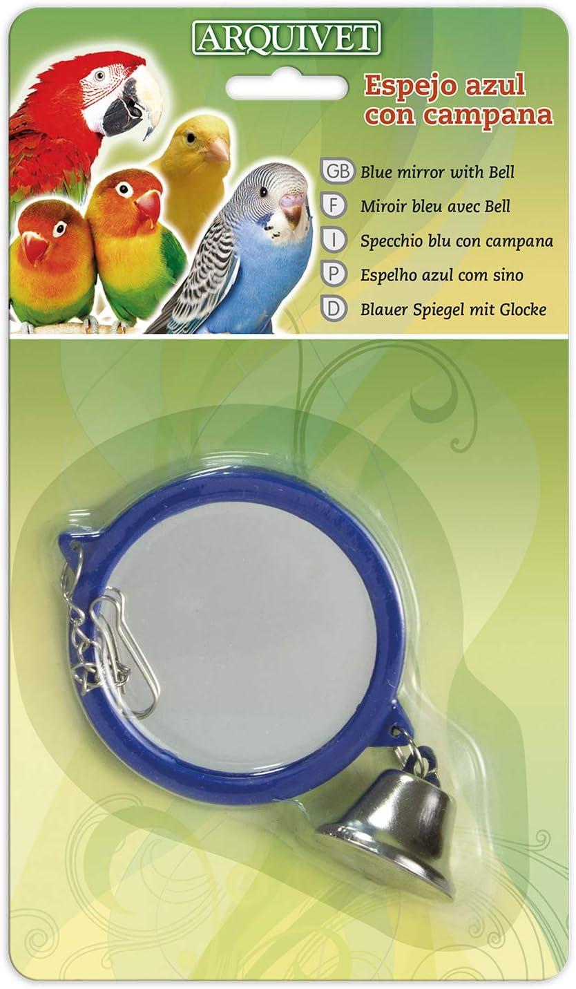 Arquivet 8435117891661 - Espejo Azul con Campana 10,5 x 9 x 1 cm