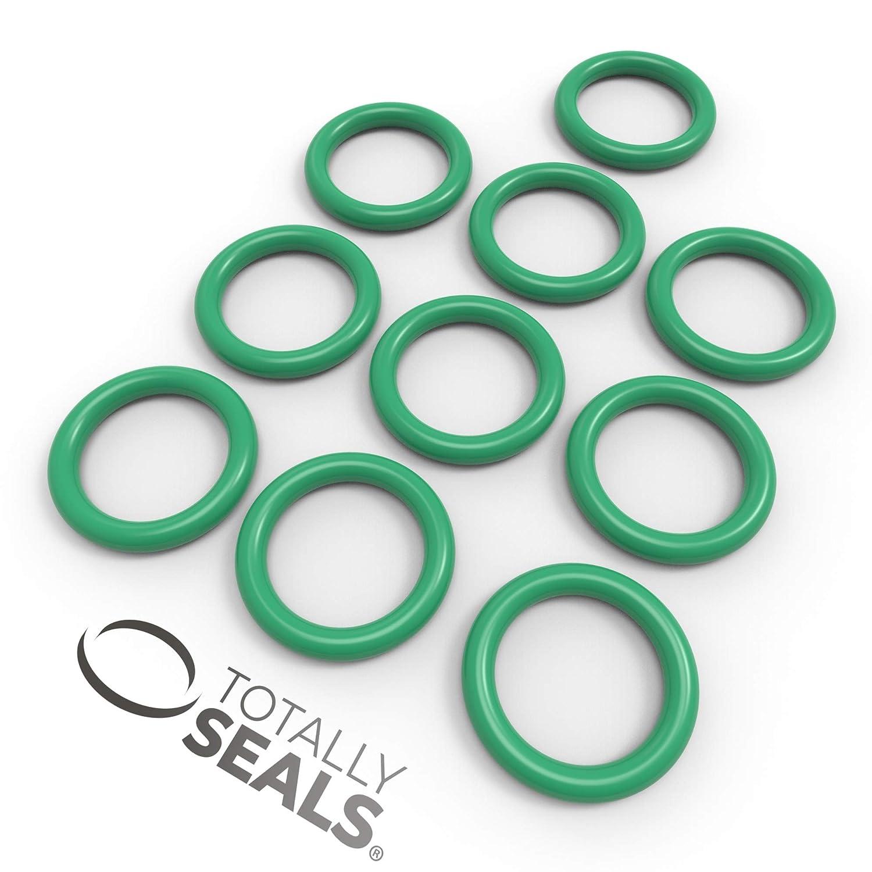 verde 16 mm x 2,5 mm, dureza 75A 1 Viton FKM Juego de juntas t/óricas de goma