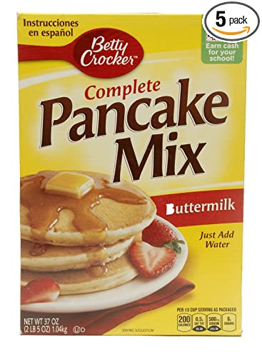 Betty Crocker Bisquick Mix de hornear, Complete Pancake Mix ...