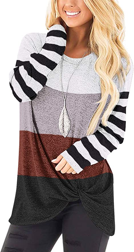 Womens T Shirts Cute Tops Flowy Blouses Juniors Soft Tunics Black S
