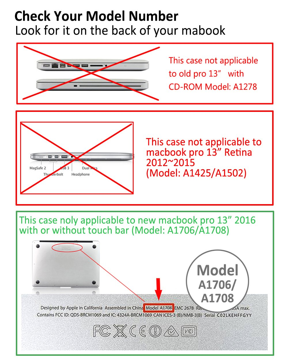 Macbook Pro 13 Case 2018 2017 2016 Release A1989 A1706 Diagram A1708 Icasso Hard Shell Cover And Keyboard For Apple