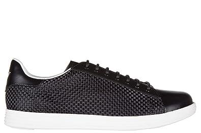 3ed877632 Armani Jeans Chaussures Baskets Sneakers Homme Noir: Amazon.fr ...