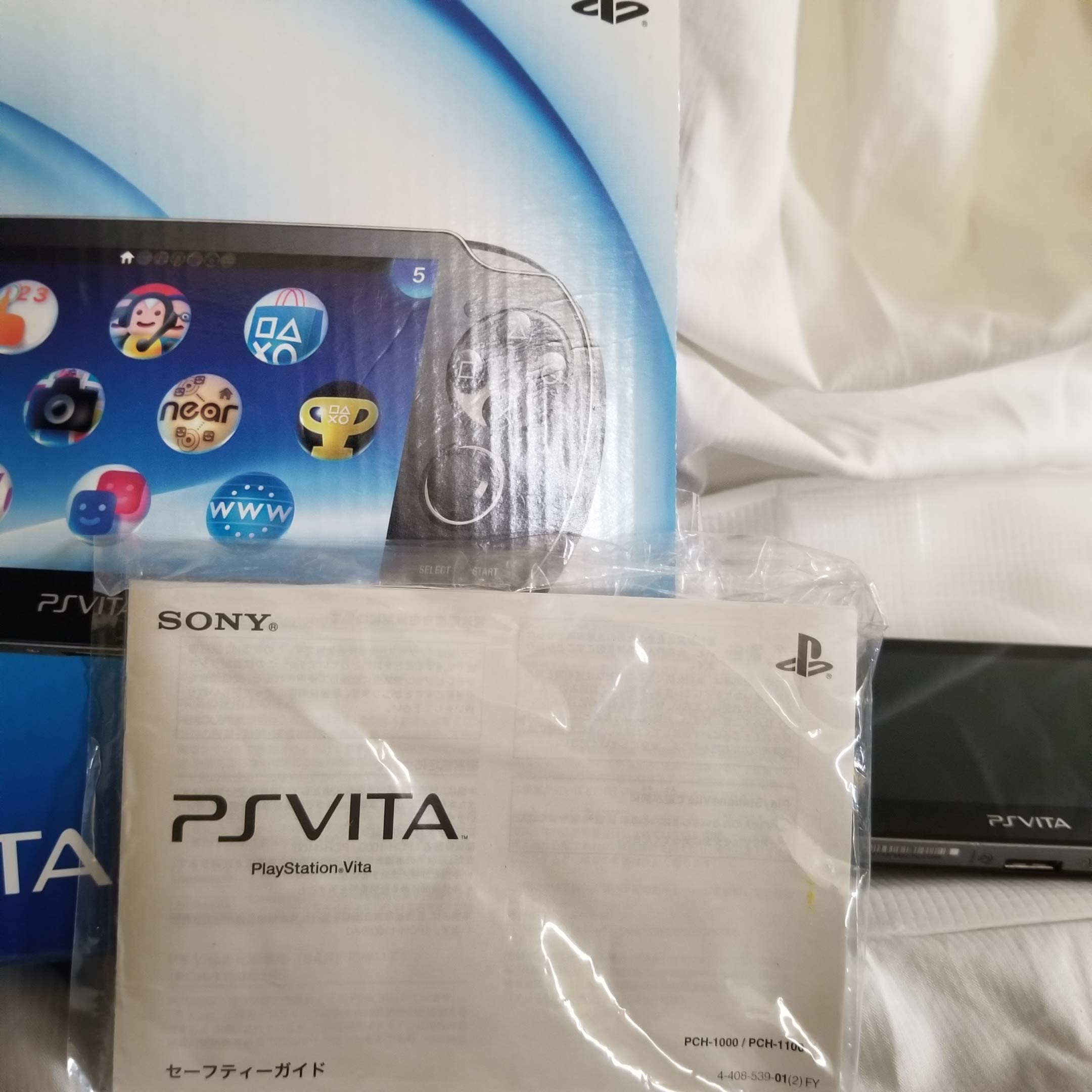 Amazon com: PlayStation Vita (PlayStation vita) Wi-Fi model