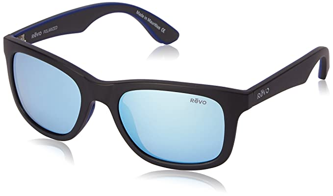 4cfabb53697 Image Unavailable. Image not available for. Color  Revo Huddie RE 1000 01 GN  Polarized Wayfarer Sunglasses