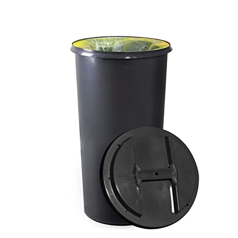 Cubo de basura KUEFA BSC6 60 l soporte para bolsas de basura ...