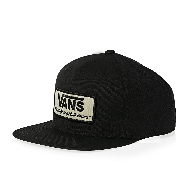 4057119c3bf0de Vans Rowley Snapback Cap One Size Black at Amazon Men s Clothing store