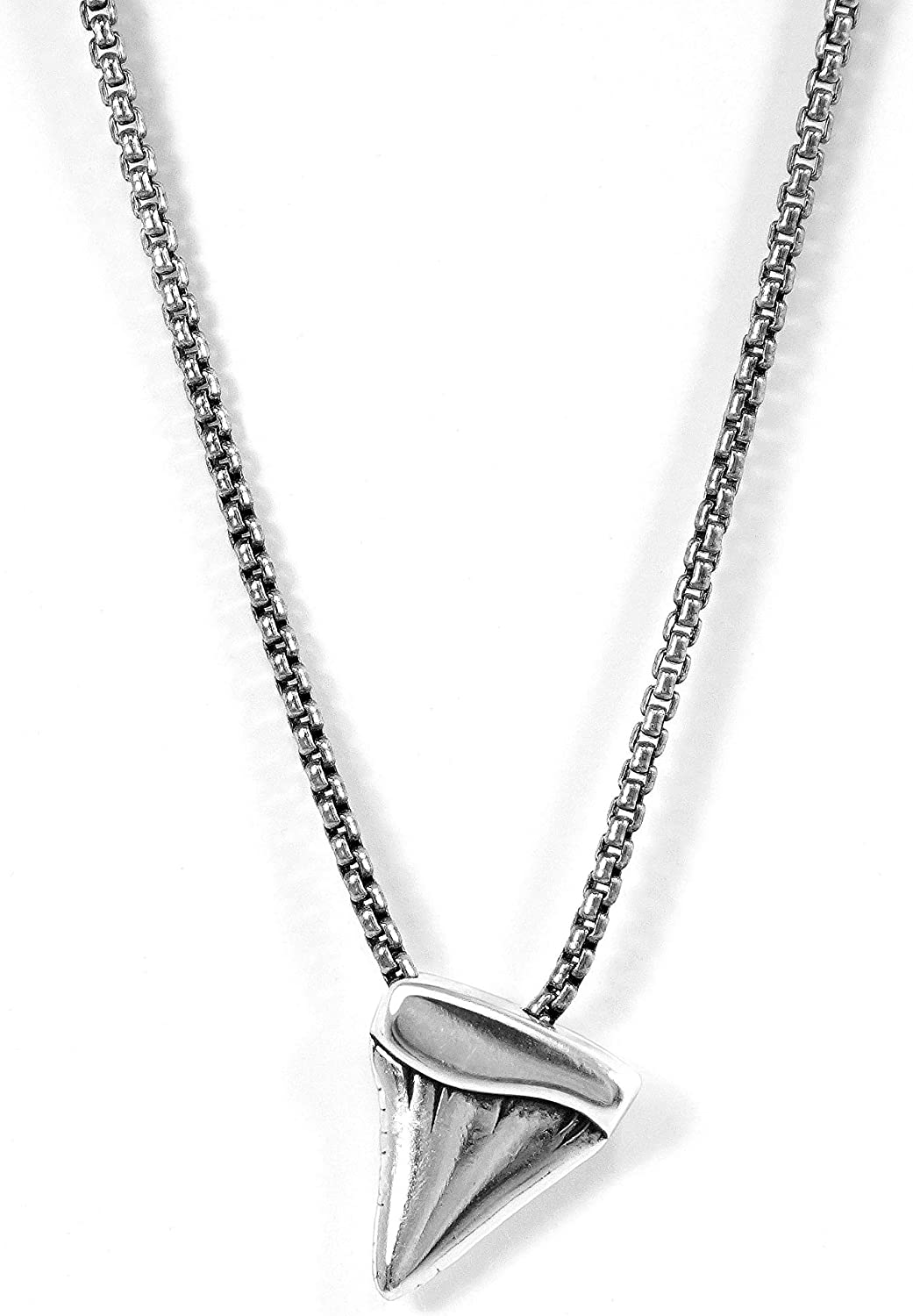 Cape Clasp Shark Tooth Necklace
