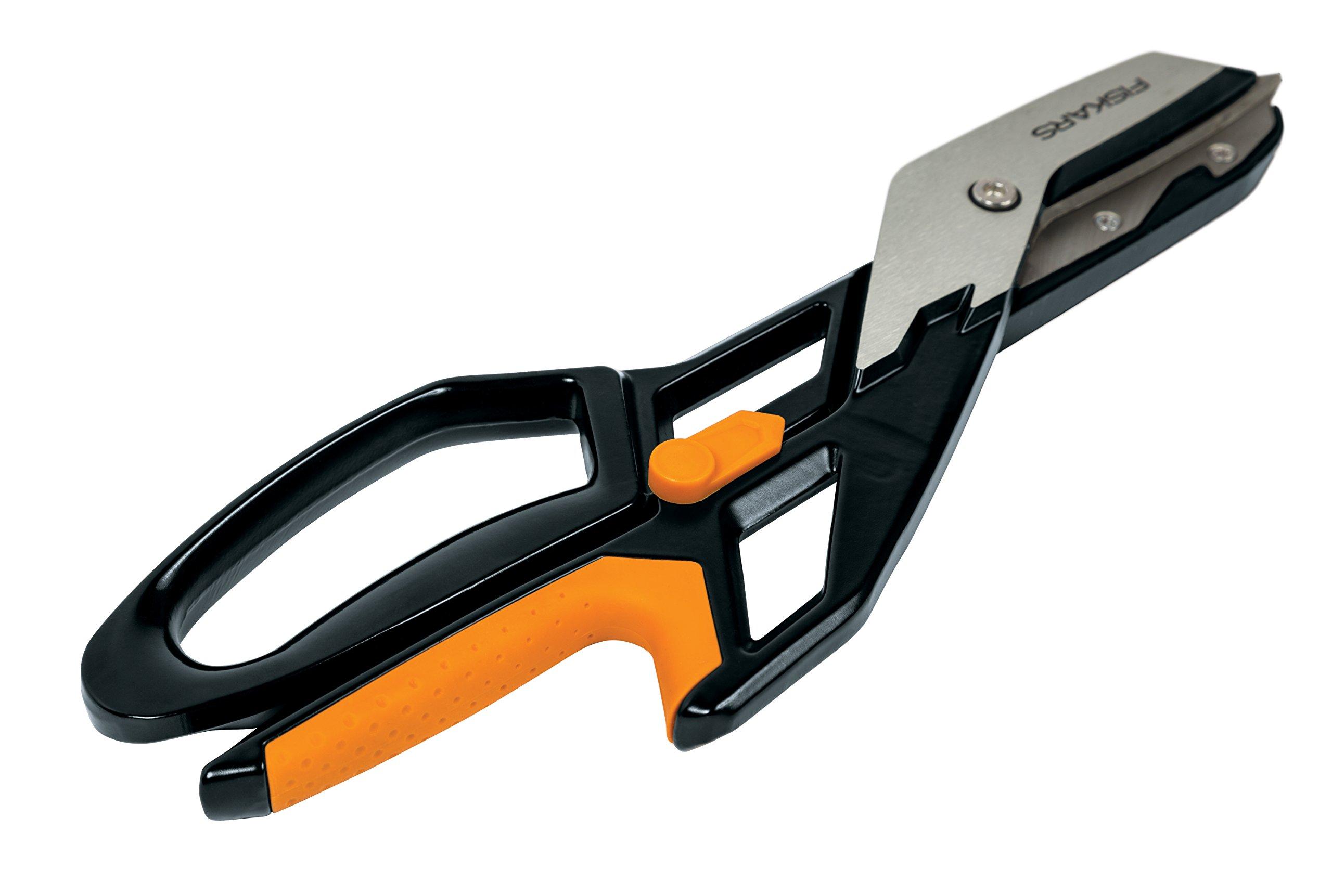 Fiskar PowerArc Easy Action Aluminum Tin Snips (13 Inch)