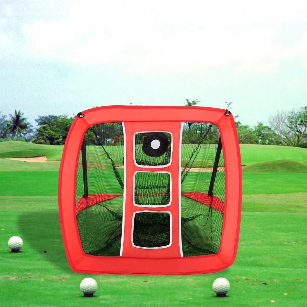 foshin Golf Hitting Net、折りたたみゴルフネットトレーニングHitting Pop UpゴルフNet with chipping Target and Carryバッグ、ターゲットfor Practice Driving Chippingインドアアウトドア(米国Stock)   B07F73N67Y
