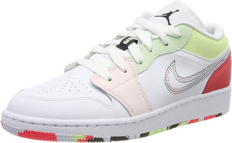 Red de comunicacion ventajoso Salida hacia  NIKE Air Jordan 1 Low (GS), Zapatos de Baloncesto para Niñas: Amazon.es:  Zapatos y complementos