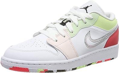 Nike Air Jordan 1 Low (GS), Zapatos de Baloncesto para Niñas ...