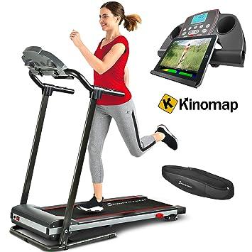 Sportstech F10 - Cinta de correr plegable con App de control ...