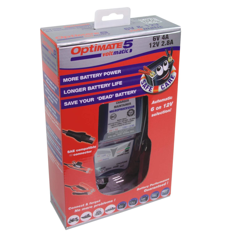 Optimate 5-6V et 12V Voltmatic Chargeur et CONTIONER