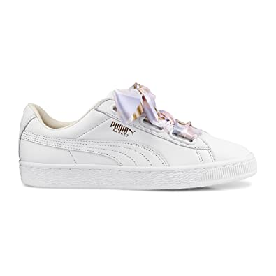 best loved aba75 474e5 Puma Heart Geo Camo Femme Chaussures Blanc  Puma  Amazon.fr  Chaussures et  Sacs