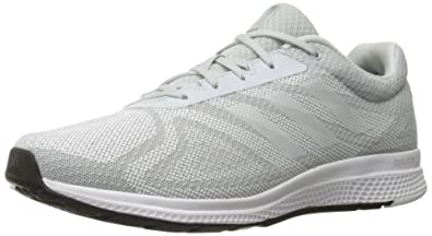 adidas performance mens mana rc bounce m running shoe size 9 clear grey/white/tech grey fabric V5