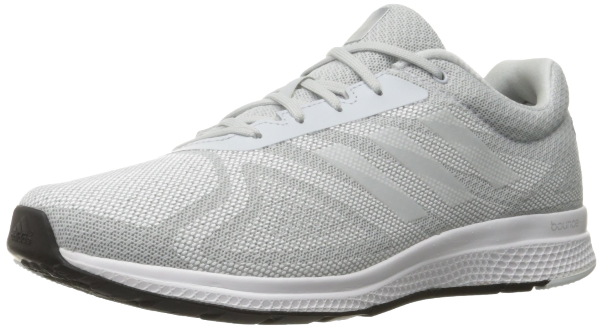 402c082d0 Galleon - Adidas Women s MANA Bounce W Running Shoe Clear Grey S12 White Black  9.5 M US