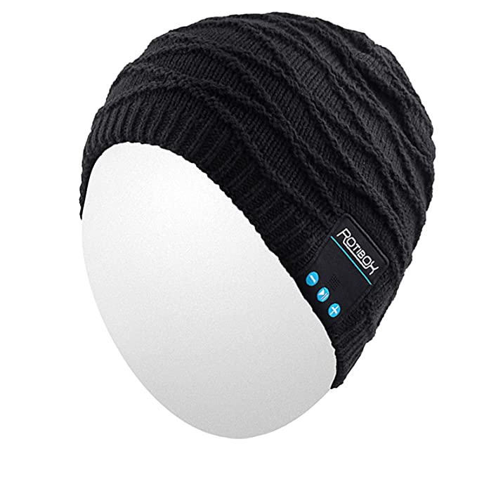 Gifts for Deep Sea Fishermen: Qshell Mens And Womens Outdoor Bluetooth Music Beanie Hat