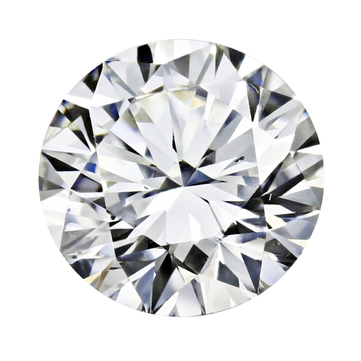 GIA Certified Round Natural Loose Diamond ( Carat: 0.5 , Color: I, Clarity: IF )