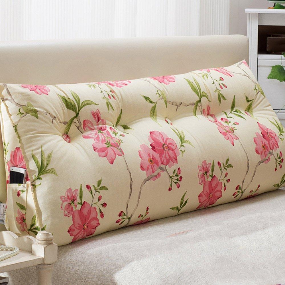 WEBO HOME- Oreiller taille oreiller - canapé large dossier sac doux - taille du lit - double coussins de chevet -