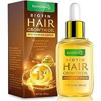 Hair Growth Serum - Biotin Hair Regrowth Oil Prevent Hair Loss and Natural Serum for Thicker, Stronger, Longer Hair Men…