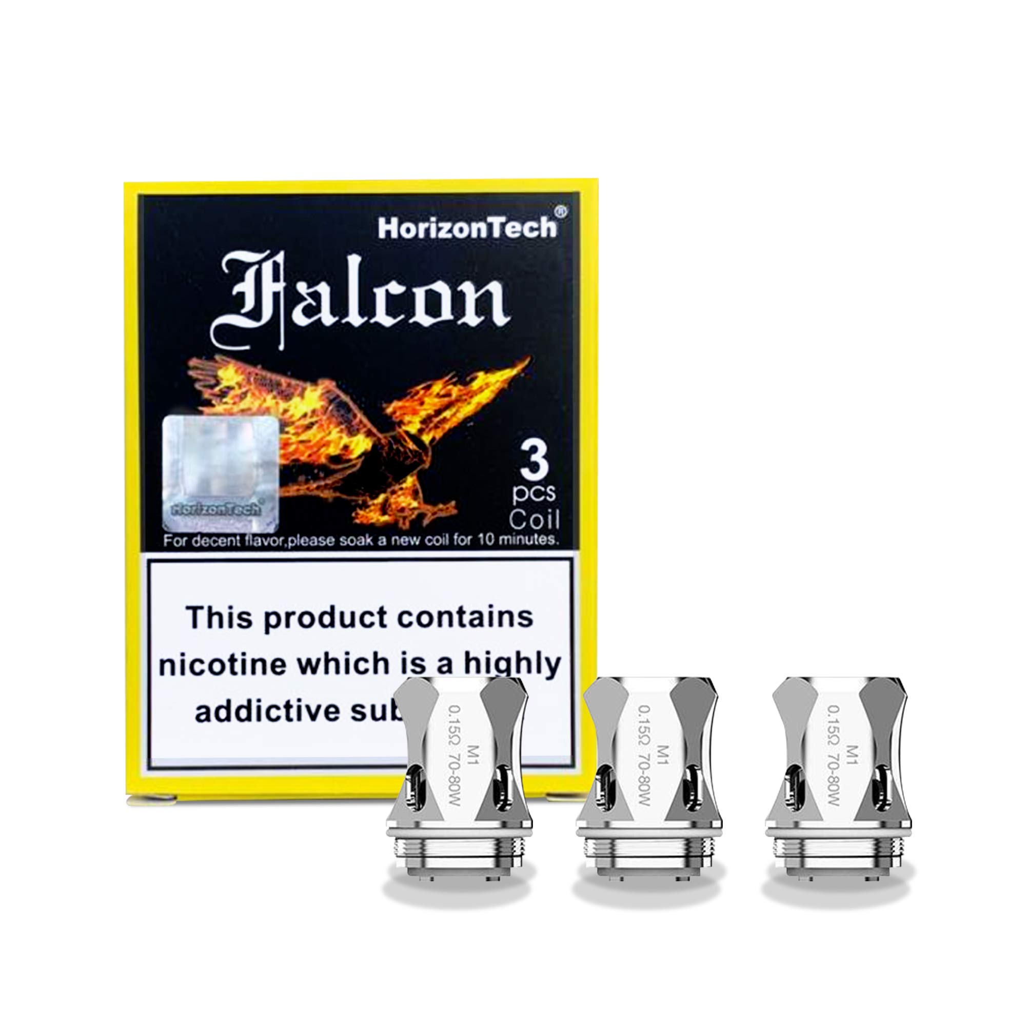 Genuine Horizon Falcon King Coils - 3 Pack [M1 - Mesh - 0.15 ohm]