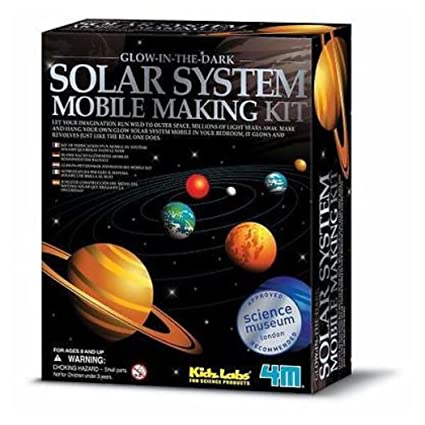 Amazon 4m Glow In The Dark Kids Educational Solar System Mobile