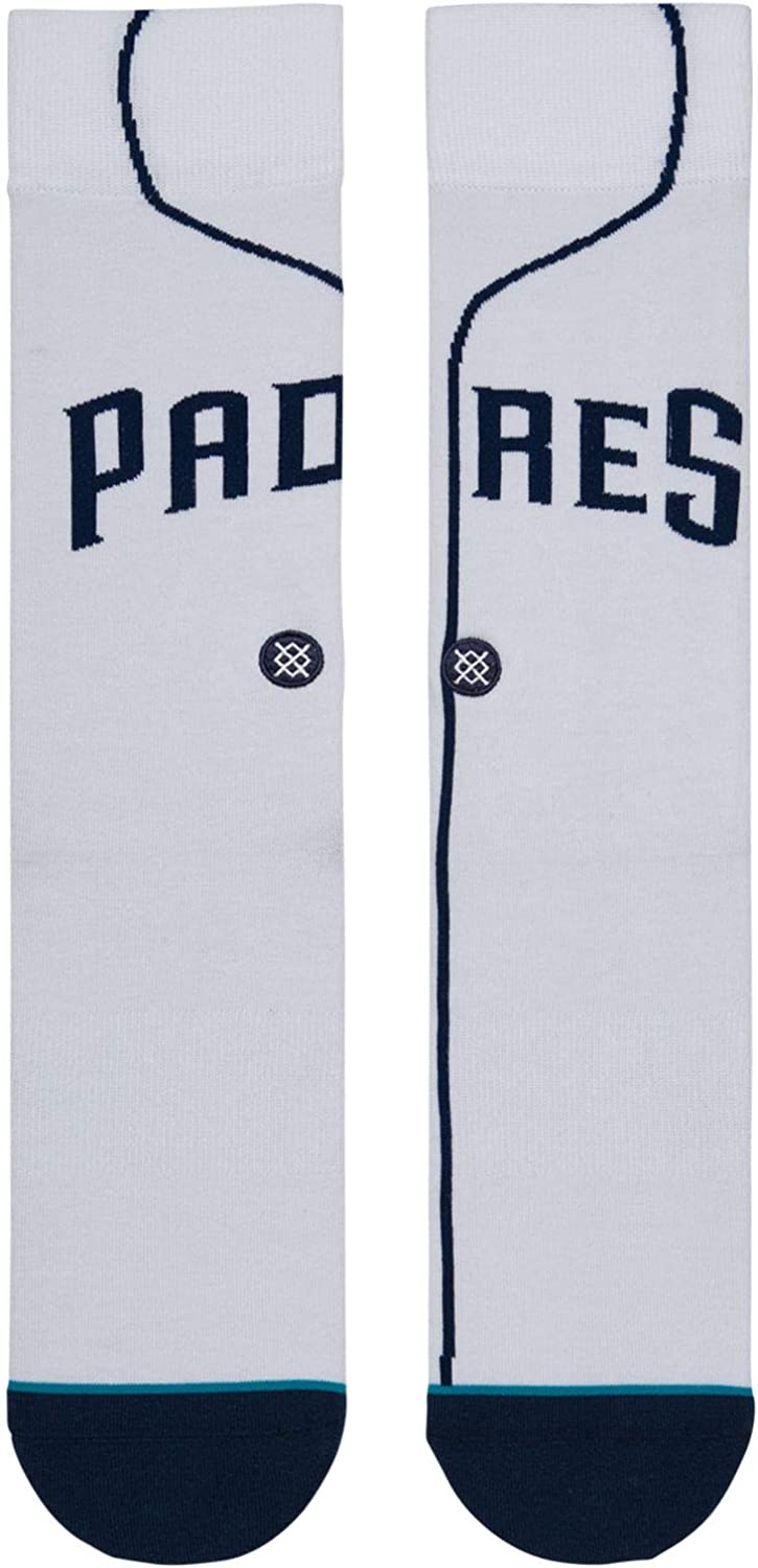 Stance Mens Padres Home Crew Socks