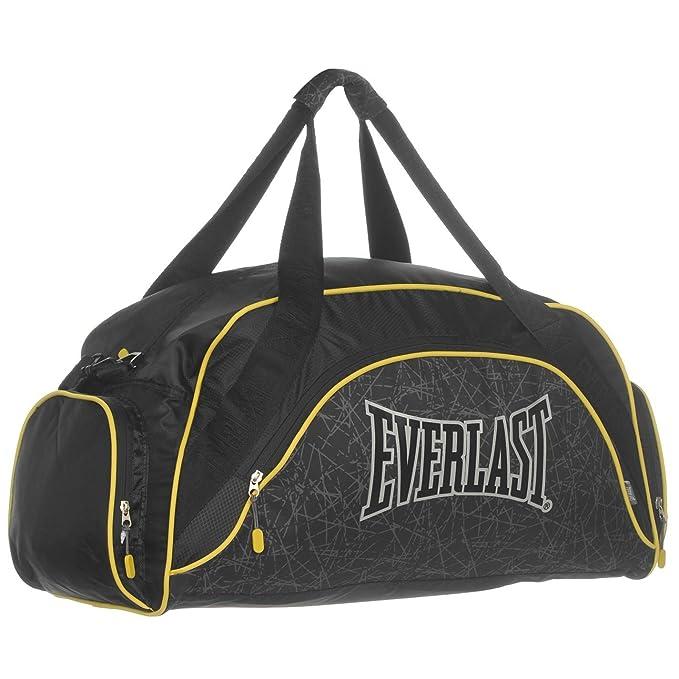 Boxing Everlast Curvado Bolsa Bolso Negro/Amarillo – Mochila para ...