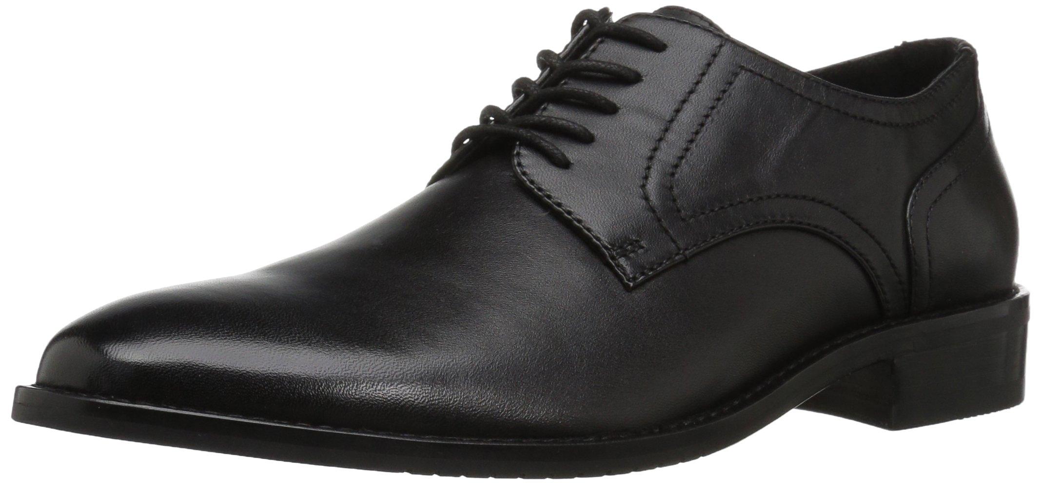 206 Collective Men's Concord Plain-Toe Oxford Shoe, Black, 13 2E US