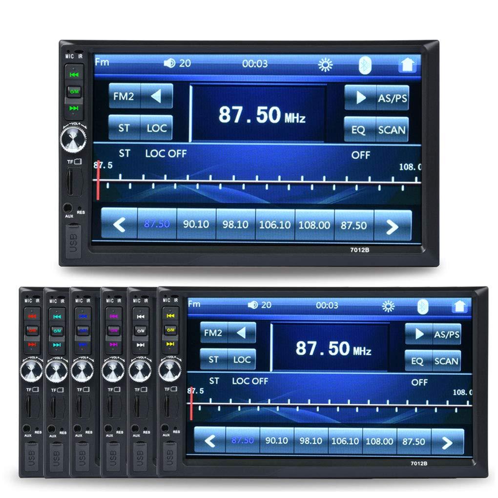 Lorjoy Digitale Touch Screen 2Din 7012B MP3 MP5 Player FM Radio autoradio Audio Musica Bluetooth USB AUX Ingresso del riproduttore