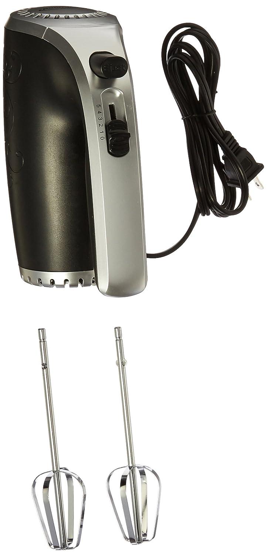Brentwood HM-48B Electric Hand Mixer NIL, Black